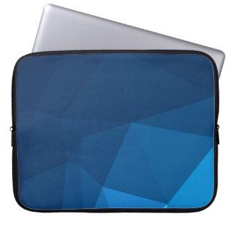 Elegant and Modern Geo Designs - Tundra Pyramid Laptop Sleeve