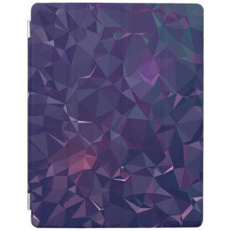 Elegant and Modern Geo Designs - Violet Amethyst iPad Cover