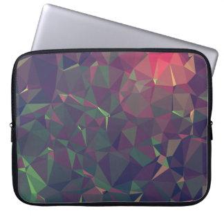 Elegant and Modern Geo Designs - Yosemite Sunset Laptop Sleeve
