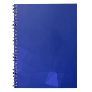 Elegant and Modern Geometric Art - Harbor Gaze Spiral Notebook
