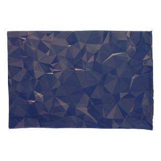 Elegant and Modern Geometric Art - Ocean Bronze Pillowcase