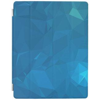 Elegant and Modern Geometric Designs - Blue iPad Cover
