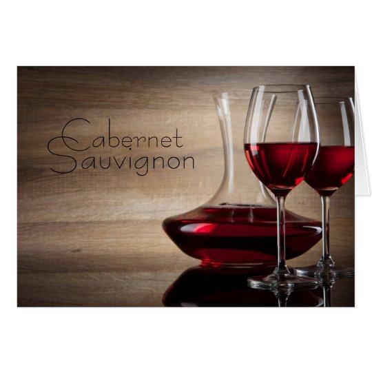 Elegant and Sophisticated Cabernet Sauvignon Cards