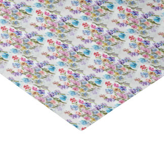 ELEGANT AND WHIMSICAL FLORAL PATTERN TISSUE PAPER
