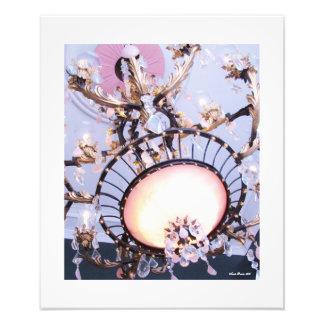 Elegant Antebellum Chandelier Print