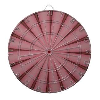 Elegant Antique Pink Kaleidoscope Design Dartboard