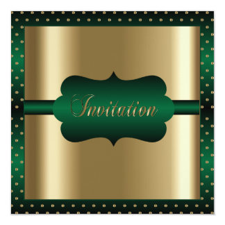Elegant Any Occasion | Green and Gold Card
