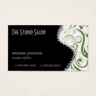 Elegant Appointment Business Card Sage