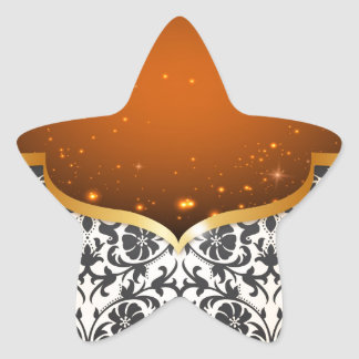 Elegant Arabian Star Sticker