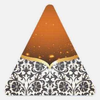 Elegant Arabian Triangle Sticker
