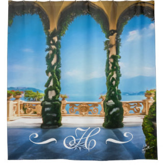 Elegant Arches of Italy Photography Monogrammed