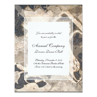 Elegant Architectural Antique Italian Marble Card