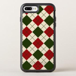 Elegant Argyle Christmas Pattern | Phone Case