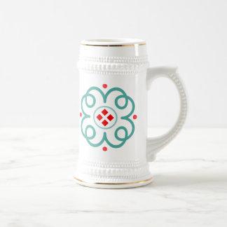 Elegant Art Deco Beer Stein