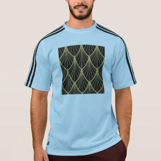 Elegant,Art deco, gold,black,fan,pattern,chic,vint T-Shirt