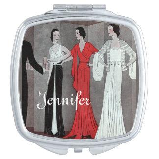 Elegant Art Deco Vintage Retro Party Vanity Mirrors
