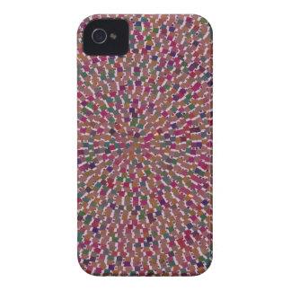 Elegant Artist created Energy Texture GOODLUCK fun iPhone 4 Case-Mate Cases