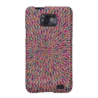 Elegant Artist created Energy Texture GOODLUCK fun Samsung Galaxy SII Covers
