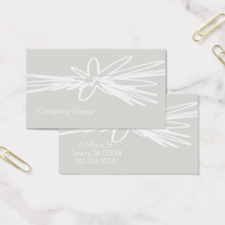 Elegant Artistic Touch Business Card