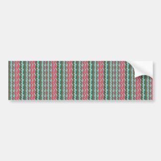 Elegant Artistic Waves Pattern Texture on Gifts 99 Bumper Sticker