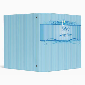 Elegant Baby Boy Keepsake Binder