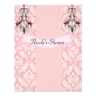 Elegant BABY OR WEDDING Shower Invitations