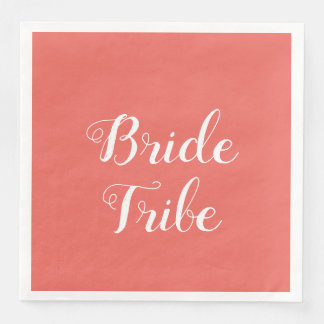 elegant bachelorette party paper napkins