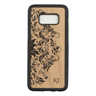 Elegant Back Floral Lace Carved Samsung Galaxy S8 Case