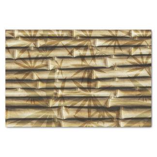 Elegant Bamboo Tropical Island Wood Tissue Paper