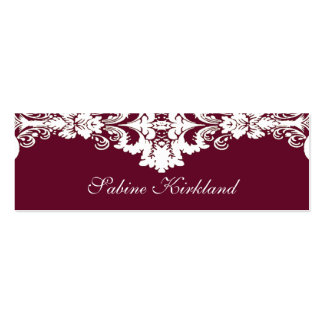 Elegant Baroque Business Card