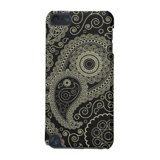Elegant beige Paisley Pattern iPod Touch 5G Case