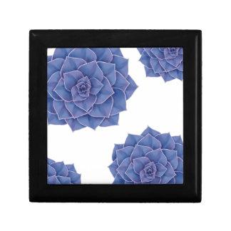 Elegant Big Purple Echeveria Design Gift Box
