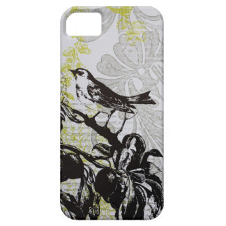 Elegant Bird vintage fashion floral iphone5 case