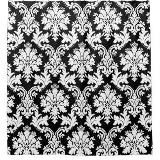 Elegant Black and White Damask