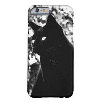 Elegant Black Cat - iPhone 6 case Barely There iPhone 6 Case