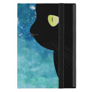 Elegant Black Cat Portrait Powis iPad Mini Case