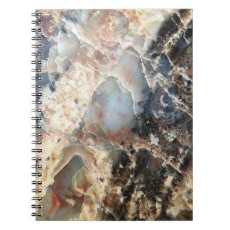 Elegant Black & Cream Notebook