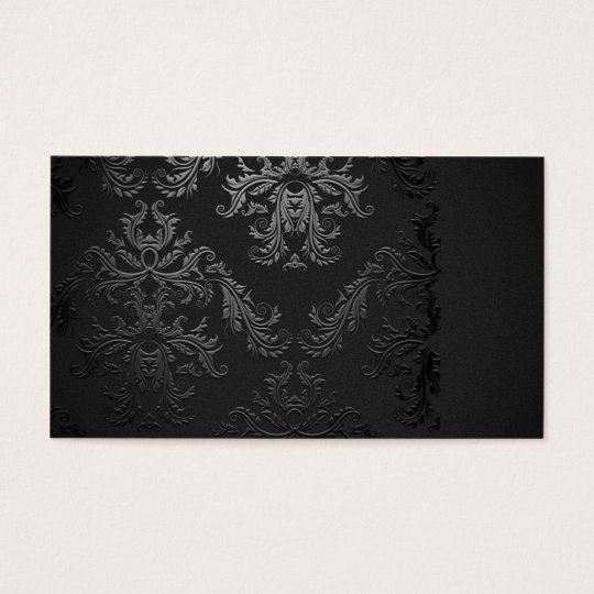 black damask art business - photo #11