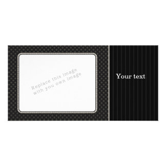 Elegant black design card