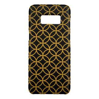Elegant Black Gold Circles Pattern Case-Mate Samsung Galaxy S8 Case