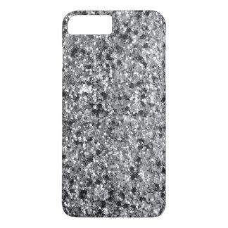 Elegant Black & Gray Faux Glitter GR 1 iPhone 8 Plus/7 Plus Case