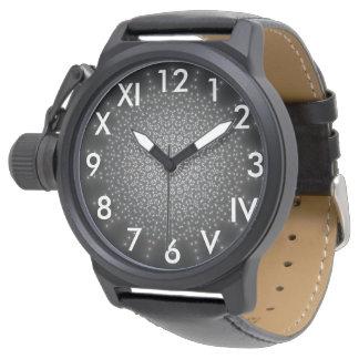 Elegant black stylish watch for him