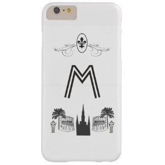 Elegant Black White New Orleans Scene Barely There iPhone 6 Plus Case