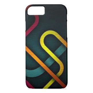 Elegant Black Yellow iPhone 8/7 Case
