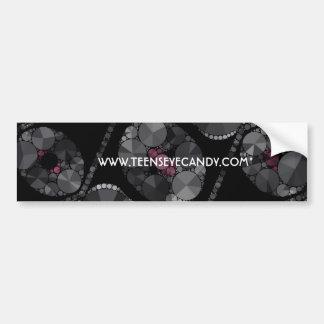 Elegant Bling Abstract Bumper Sticker
