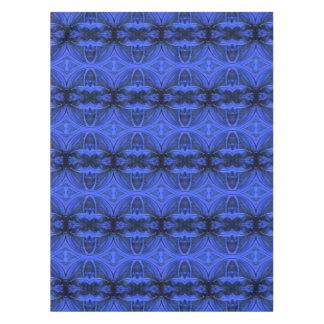 Elegant Blue Digital Design Tablecloth