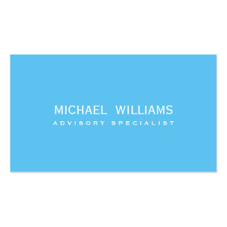 ELEGANT BLUE PROFESSIONAL CELESTIAL HEAVY SWIMMING BUSINESS CARD