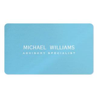 ELEGANT BLUE PROFESSIONAL CELESTIAL SWIMMING POOL BUSINESS CARD