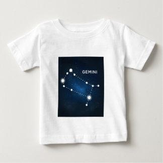 ELEGANT BLUE STARRY WATERCOLOR UNIVERSE - GEMINI BABY T-Shirt