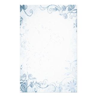 Elegant Blue Vintage Wedding Stationery